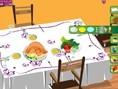 Yemekteyiz Masası Dekorasyon Oyunu