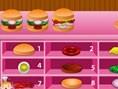 Lezzetli Burgerler Oyunu