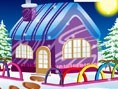 Kış Evi Dekorasyonu Oyunu