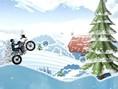 Motorcu Buzlu Parkur Oyunu