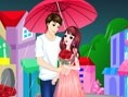 Romantic Raining Valentine
