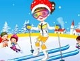Cute Skier Dress up