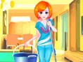 Cleaning Girl Dress up