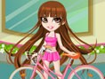 Vivian Bike Ride Dress up