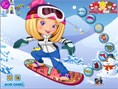 Snowboarderin Anziehen
