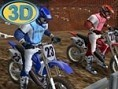 3D Motorrad-Rennen