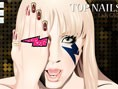 Lady Gaga Top Nails