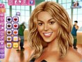 Beyonce Knowles Schminken