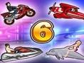 Yarış Araçları 6 Oyunu Oyna