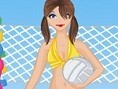 Volleyball Spielerin