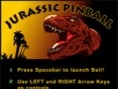 Jurassic Pinball