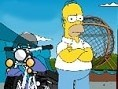 Simpsons Motorbike