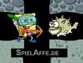 Spongebob im Meer