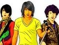 Color Jonas Brothers